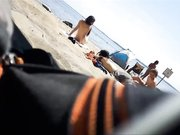 I love the beach there is hidden camera filming naked women